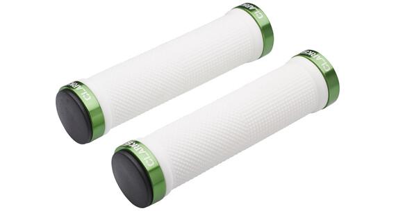 Clarks Lock On Cykelhåndtag grøn/hvid